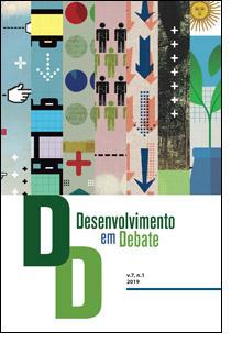 Capa: Desenvolvimento em Debate - v.7, n.1, janeiro-junho 2019